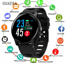 2019 Men Smart Watch S08 IP68 Waterproof Fitness Tracker Heart Rate monitor Smartwatch Women Clock for android IOS Phone PK P2 c5 smart watch mtk2502 heart rate monitor sports clock smartwatch waterproof relogio support sim card for ios android pk amazfit