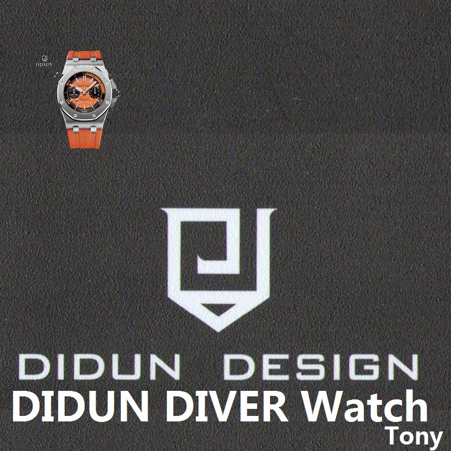 DIDUN Mens Watches Top Brand Luxury Watch men Sports Diver Watches Military  Quartz WristWatch Water Resistant Clock Men 942b7ad2af346