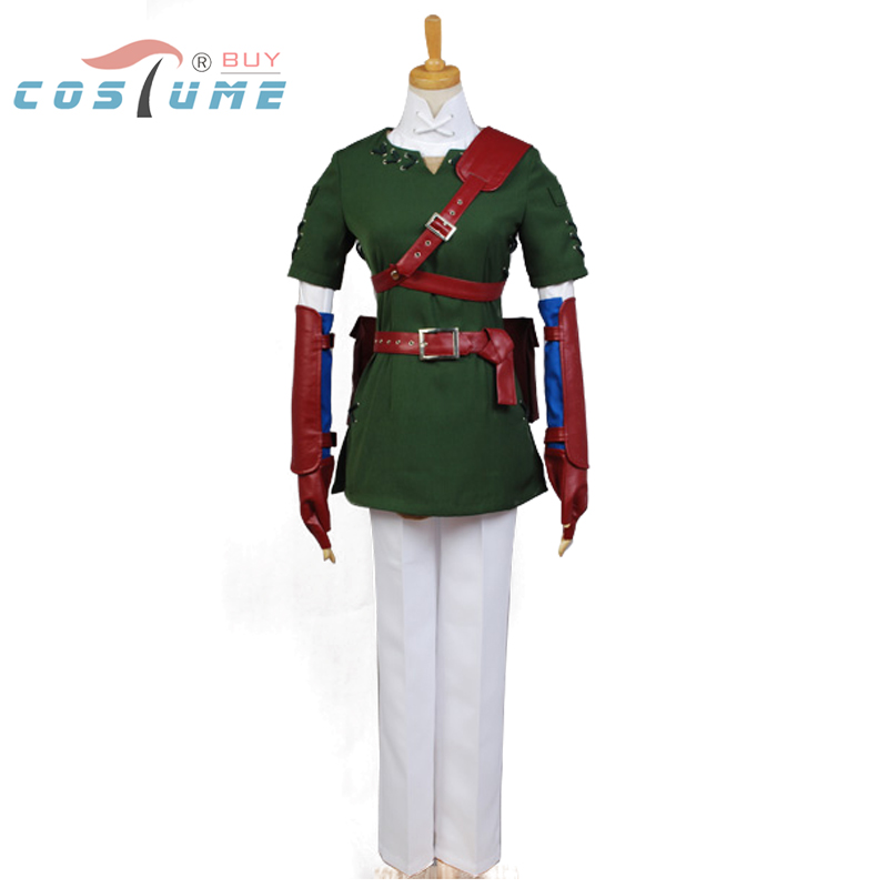 The Legend of Zelda Link Cosplay Costume Full Set Custom Made