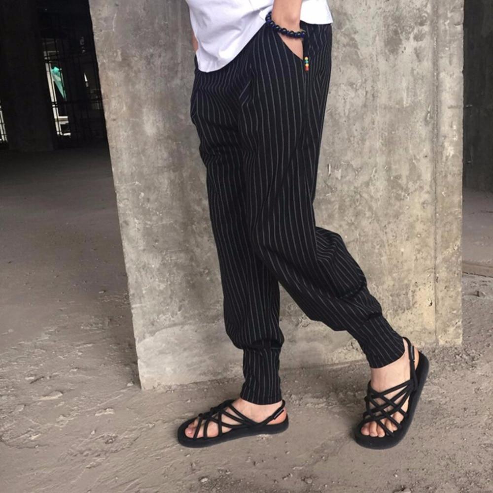 Marea La Pantalones Los Ajustados Bf Estilista Negro Moda Ancho 2019 Nueva 5xl M Hombres Haz Linterna Pierna Trajes De Pantalón Verano BOUZ1q