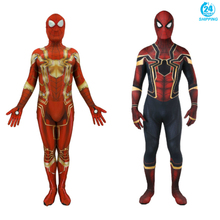 3D printing Spiderman Movie Avengers Infinity War Cosplay Costume Zentai Iron Spider Man Superhero Bodysuit Suit Jumpsuits
