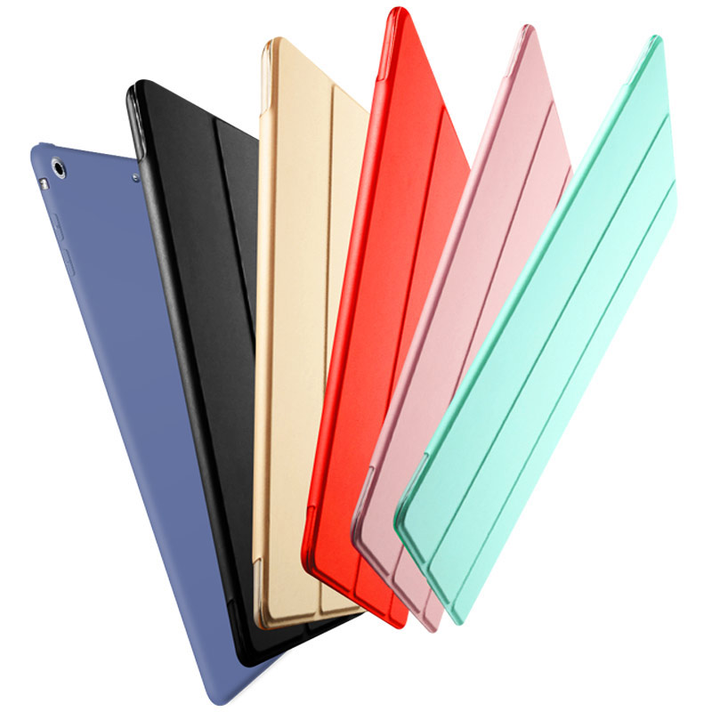 Luxury PU leather for ipad air cover case kenke flip stand soft smart for ipad 5 case tablet Sleep Wake up case for iPad air 1 for ipad air 2 air 1 case slim pu leather silicone soft back smart cover sturdy stand auto sleep for apple ipad air 5 6 coque