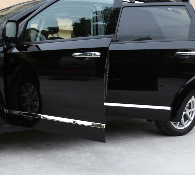 4kom za automobil Dodge Journey 2013-2015 ukras karoserije Vrata protiv trljanja ispod suknje ukrasnog nehrđajućeg čelika