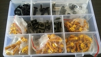 For Honda CBR1000RR Motorcycle Fairing Bolt Screw Fastener Fixation CBR 1000 RR 2004 2005 Complete Kit Nuts Accessories With Box