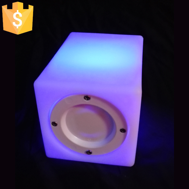 LED Flowerpot Colors 16 Changeable Luminous flash flower Planter Tray indoor Outdoor for Bars Night Party 10pcs/Lot