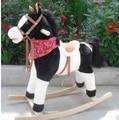 Горячие продажи стоимость Игрушки лошадка троян джинсовой 32 гармония музыки flash 70 см