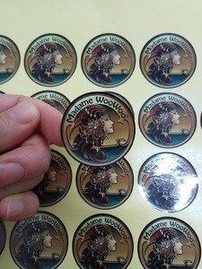 Image 3 - (1,37 дюйма) 35 мм печать на заказ самоклеющиеся наклейки с логотипом этикетки персонализированные наклейки этикетки 500 шт./лот