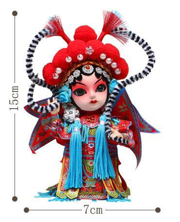 2019 new wholesale china tradition culture nation sichuan opera toys creative chinese opera face changing doll figure toys
