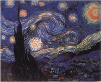 Classic 3D Diamond Painting Square Drill Home Decoration Scroll Paint Embroidery Kits Rhinestones Van Gogh Abstract