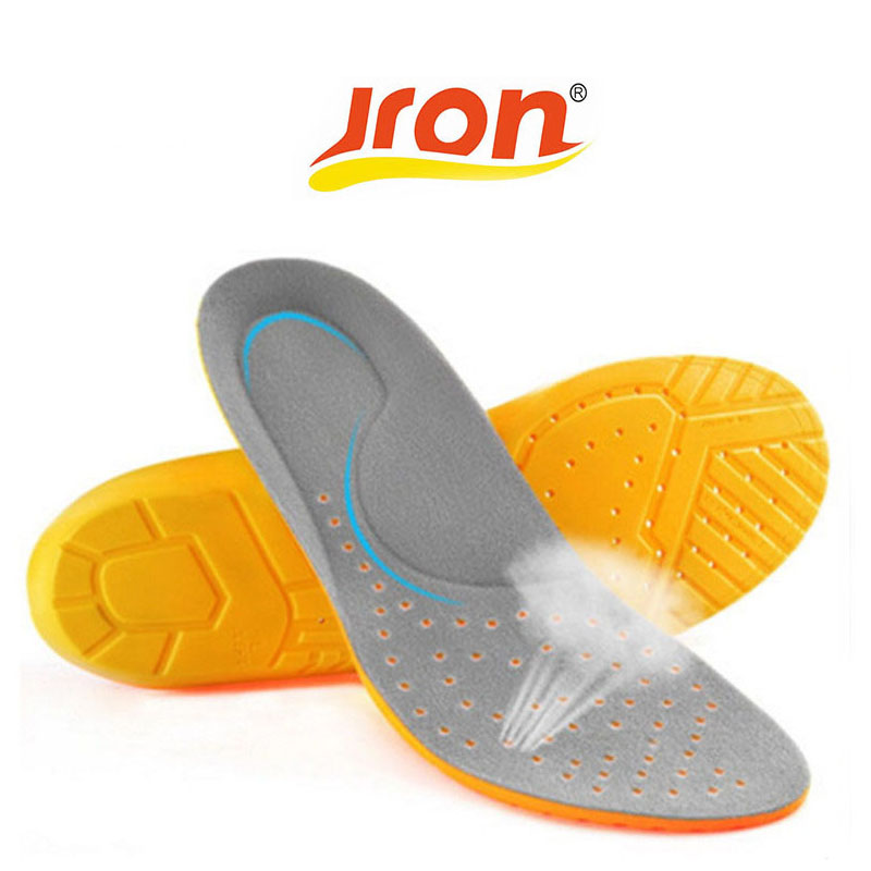 купить PU Sport Insoles Eco Friendly Shock Absorption Pads Running Sport Shoe Inserts Breathable Insoles Foot Care Expert Men And Women недорого