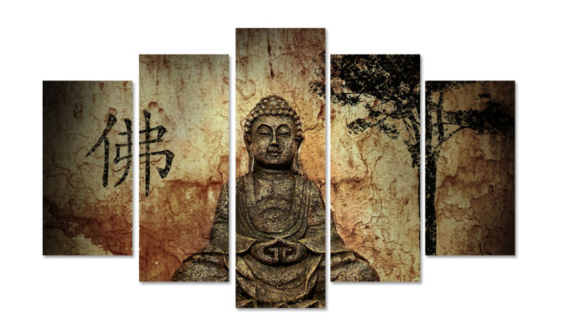 Cheap Modern Wall Decor online get cheap buddha wall decor -aliexpress | alibaba group