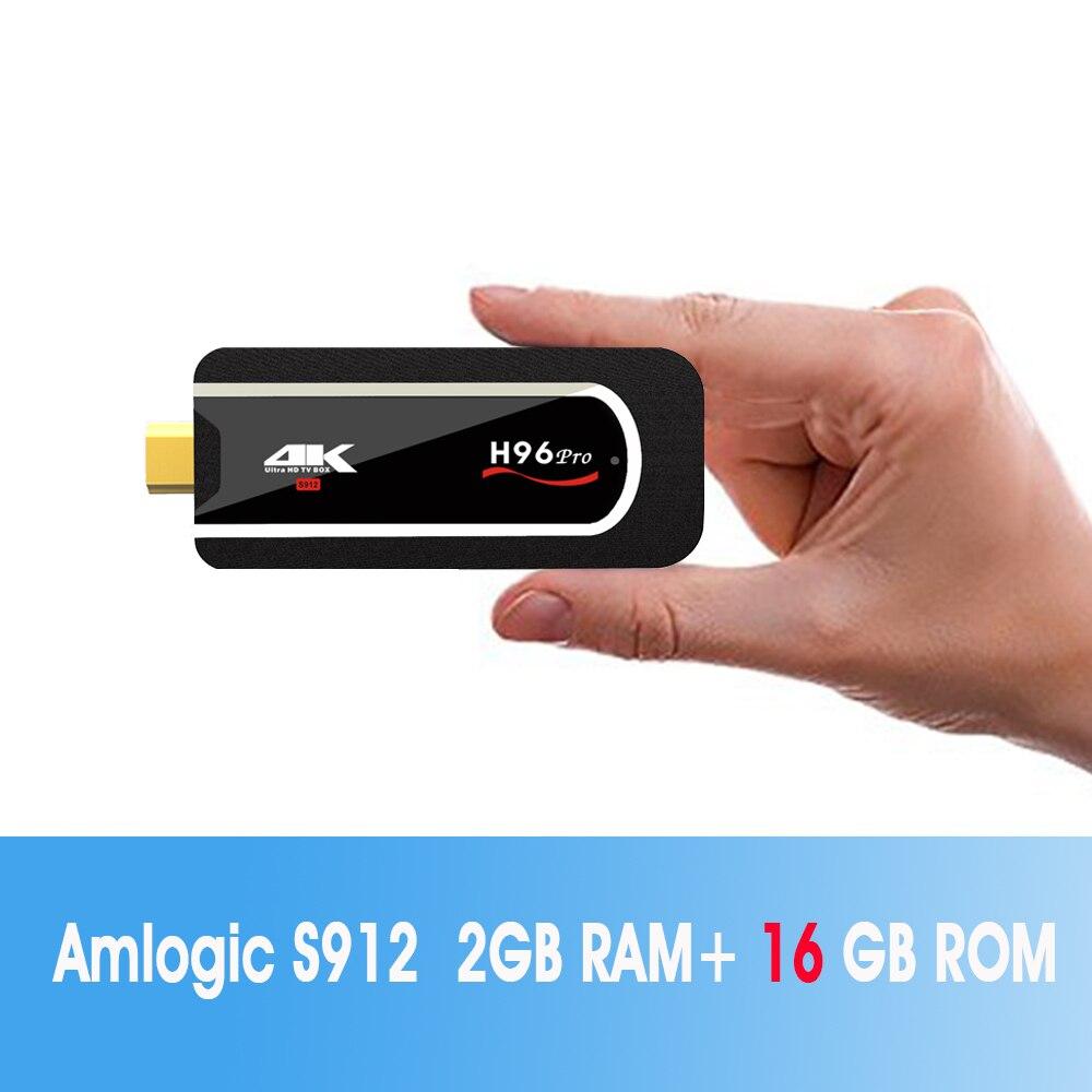 ZKMAGIC H96 Pro MINI PC Smart TV Box Android 7.1 2g RAM 8g/16g ROM Amlogic s912 2.4g WIFI H.265 HDMI 2.0 HDR VP9 Bluetooth 4.1