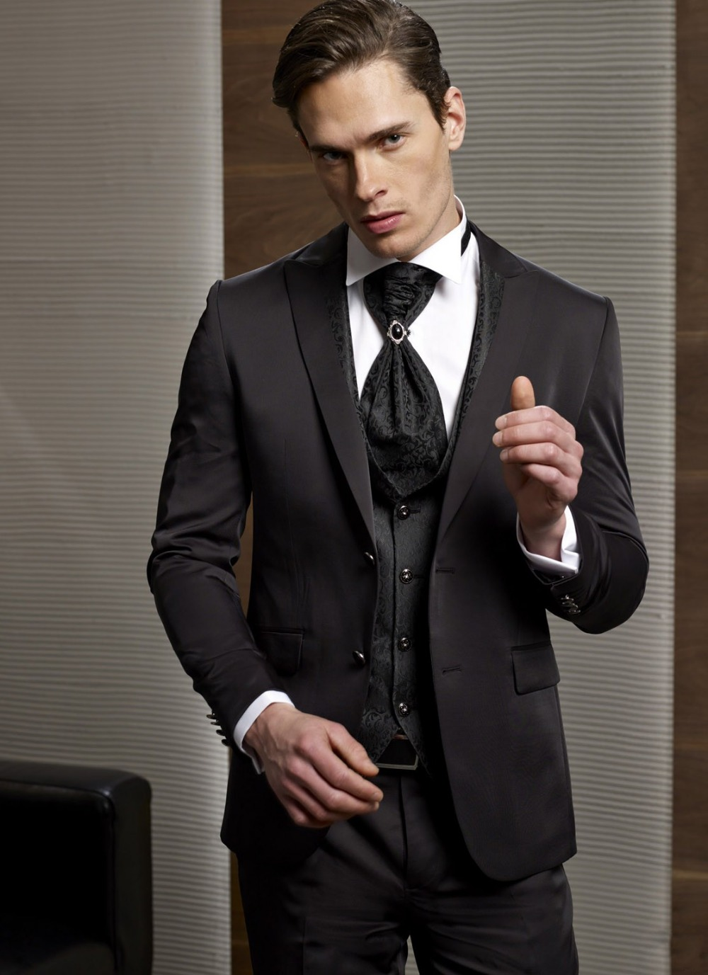 Online Get Cheap Brown Wedding Suits for Groom -Aliexpress.com