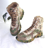 2017 New Outdoor Military Tactical Camouflage Combat Boots Sport Army Men Ankle Desert Boots Botas Travel Hiking Shoes
