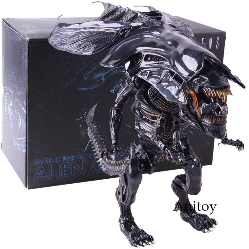 Aliens Alien Queen Action Figure Hybrid Metal Figuration 047 PVC Collectible Model Toy