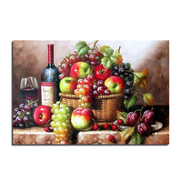 Fruit Still Life 75x50 Cross Stitch Diy Diamond Painting Rhinestones Embroidery Resin Set Canvas Craft Mosaic