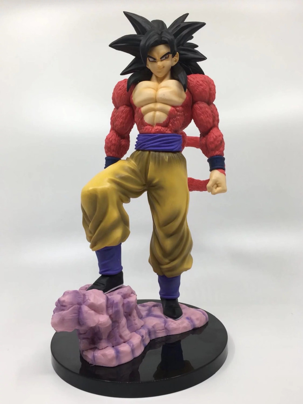 Dragon Ball Son Gokou Action Figure 1/6 scale painted figure Super Saiyan 4 Son Goku PVC figure Toy Anime 16cm anime dragon ball z goku action figure son gokou shfiguarts super saiyan god resurrection f model doll