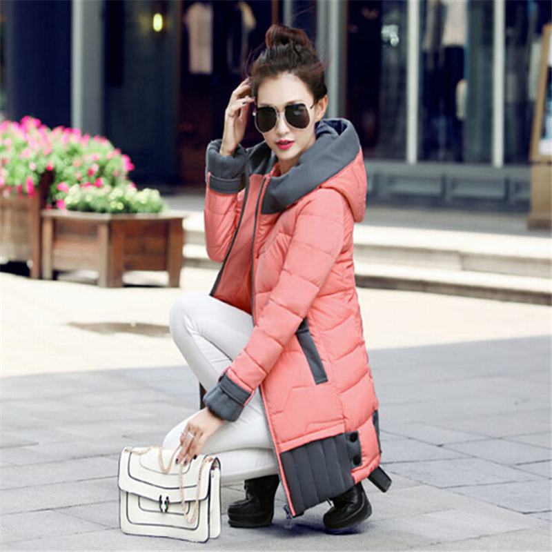 Womens Winter Jackets And Coats 2017 Thick Warm Women Parka Women's Winter Jacket Female Down Cotton Anorak CC290 стоимость