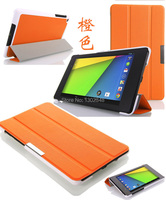 Ultra Slim Smart Case For Asus Nexus 7 2013 Magnetic Fold Stand Leather Skin Shell Cover