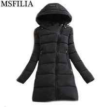 Wadded Clothing Female 2016 New Women's Winter Jacket Down Cotton Jacket Slim Parkas Ladies Coats Plus Size Winter Coat