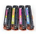 4 Pack CE320A CE321A CE322A CE323A Toner Cartridges Past Compatibel voor HP LaserJet CM1415 CM1525 CE320A