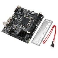 H61 Desktop motherboard ddr3 lga 1155 Mainboard motherboard lga 1155 Pin CPU Interface Upgrade USB2.0 DDR3 1600/1333 Dropshiping