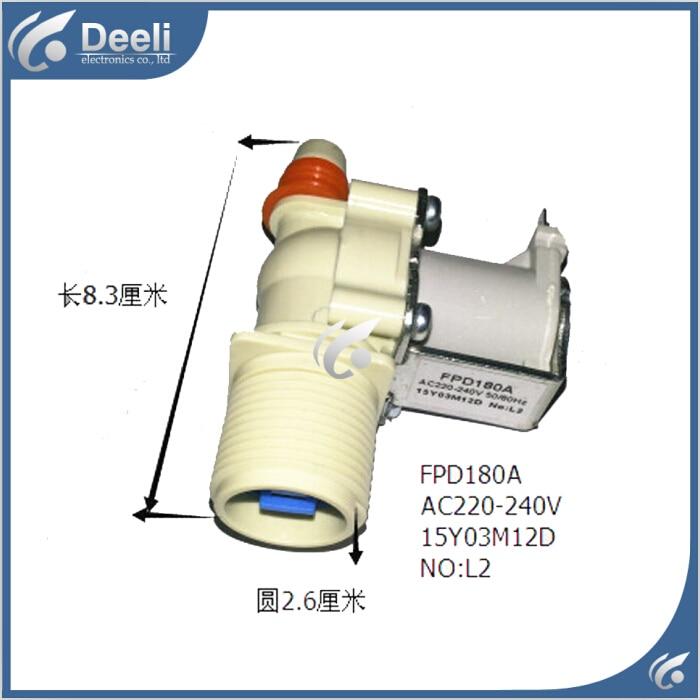 2pcs/lot new Original for Washing Machine Inlet valve solenoid valve good working 3924450 2001es 12 fuel shutdown solenoid valve for cummins hitachi
