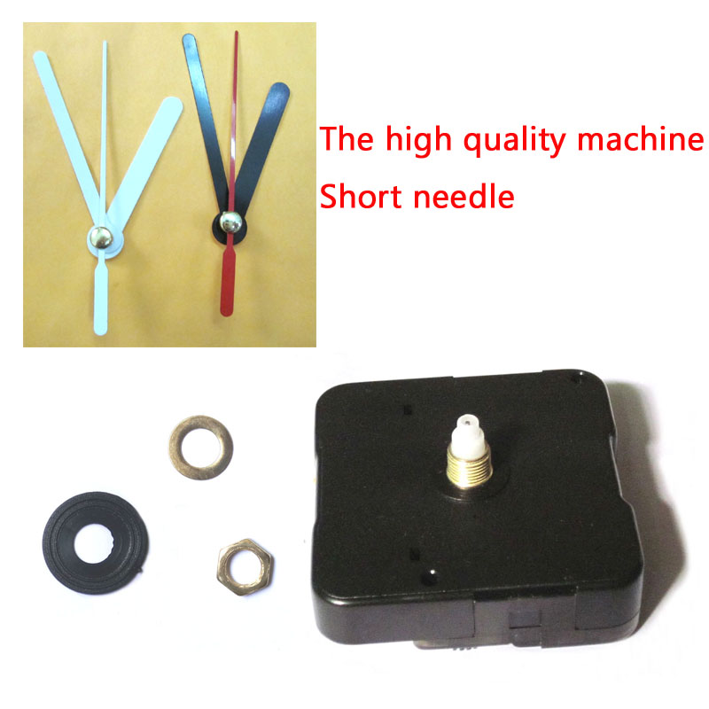 Wholesale Price 100pcs mute Quartz Clock Movement for Clock Mechanism Repair DIY clock parts accessories shaft