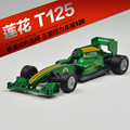 (5pcs/pack) Wholesale Brand New WELLY 1/36 Scale Car Model Toys LOTUS T125 F1 Racing Car Diecast Metal Pull Back Car Toy