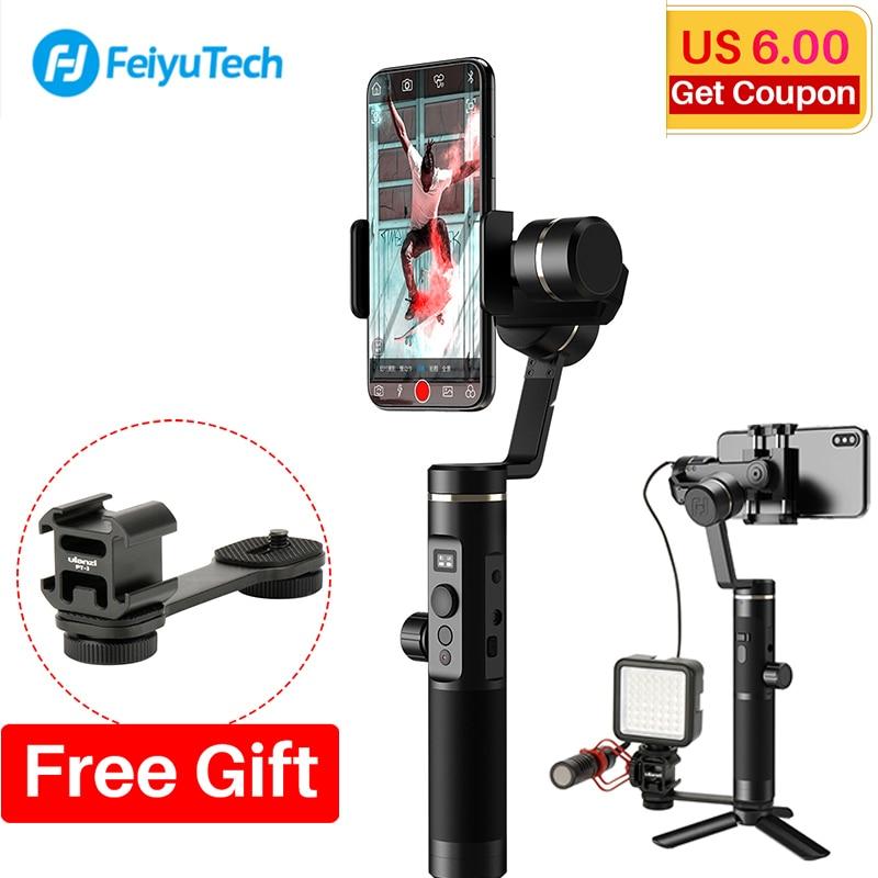 Feiyu SPG2 3 оси ручной Gimbal стабилизатор брызг Следуйте Фокус для iPhone XS X 7 GoPro 7 6 5 видеоблоге, Feiyutech SPG 2