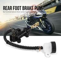 Мотоцикл задний ножной тормоз Гидравлический Главный цилиндр насос для резервуаров для Suzuki gsx-r 600 750 1000 1300