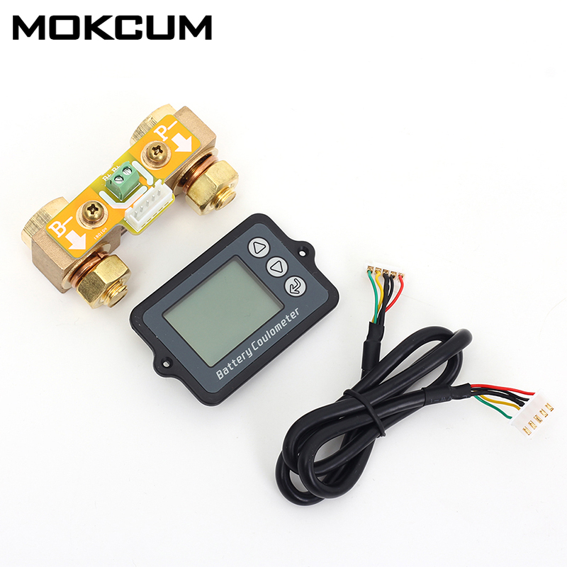 80V 350A Coulomb mètre indicateur de capacité de la batterie coulomètre affichage du niveau de puissance professionnel Lithium TK15 testeur de batterie