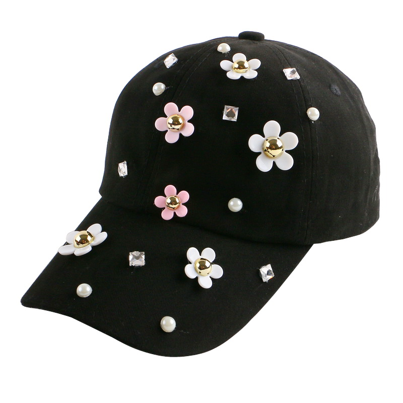 new trendy fitted women girl beauty hat cute daisy shaped outdoor casual jean baseball cap female hip hop gorras snapback hats футболка с полной запечаткой printio spaces