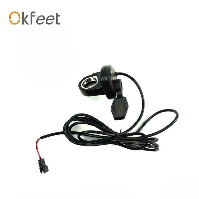 Okfeet Thumb 108X L 3 Wires Electric Bike Throttle Speed Throttle ...