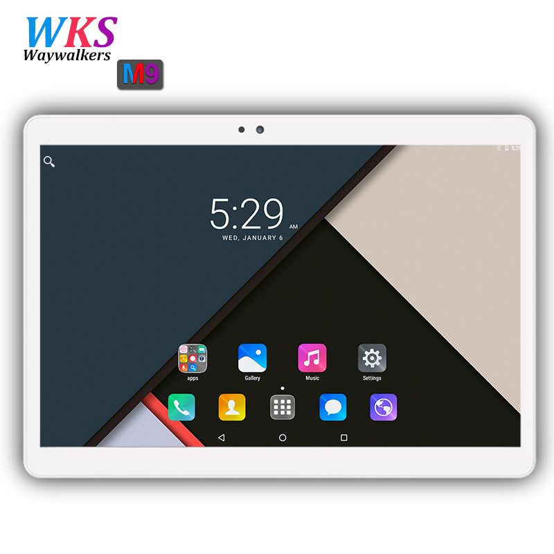 2018 Global 10.1 inch Octa Core 3G/4G LTE Tablet pc 4GB+64GB 1920*1200 IPS Screen GPS Android 7.0 Tablets 10 10.1 Free Shipping free shipping 10 1 inch 2 5d screen 4g lte tablet pc octa core 1920 1200 hd ips 4gb 128gb wifi bluetooth gps android 7 0 tablets