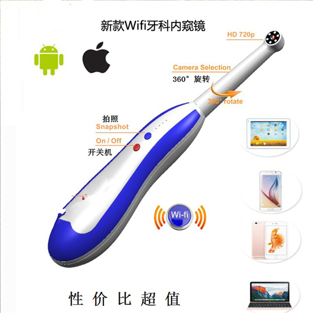 New Mini AV/Video Output wifi Intra Oral Camera Dental/Home for iPhone android dental intra oral camera usb vga output