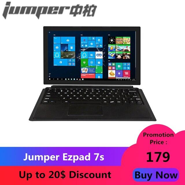 """Jumper Ezpad 7 S Máy Tính Bảng 10.8 """"Intel Cherry Trail Z8350 Quad Core 1.44-1.92 GHz 4 GB RAM ROM 64 GB 2.0MP Camera Trước 2.4G WIFI"""