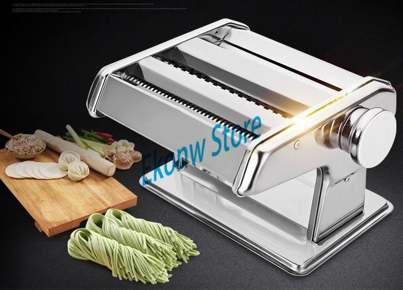 Free shipping(CDEK) to RS 1pc 2 blades of noodle machine Manual dumplings wonton skin roll Pasta kitchen tool pasta machine
