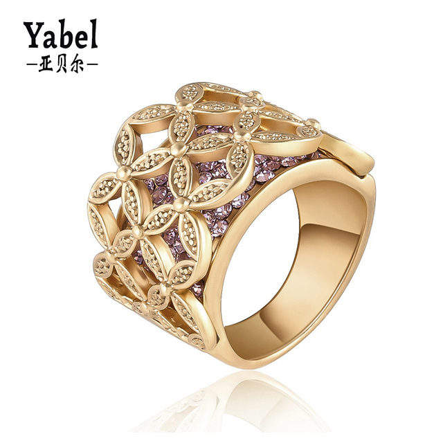 Fashion Simple Pearl Jewelry Rose Gold Engagement Rings
