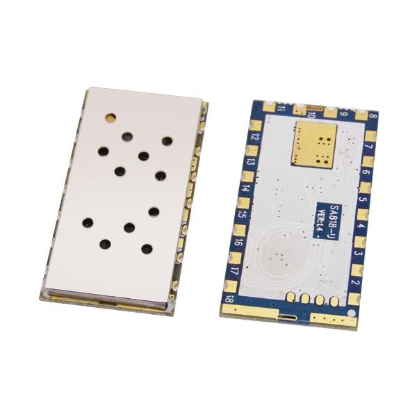 imágenes para 4 unids/lote SA818-1 W 3.5 km-5 km de alto integrado RDA1846S chip Integrado UHF 400-480 MHz Módulo de Walkie Talkie