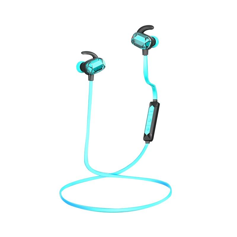 New Transparent Wireless Headphones Bluetooth Earphone Sport Running Stereo Super Bass Headset Waterproof IPX5 Earbuds With Mic original xiaomi sport bluetooth earphone wireless sport stereo headphones with microphone ip6 waterproof bluetooth 4 1 headset