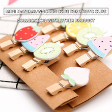 New 50Pcs pack Mini Natural Wooden Clothes Photo Paper Peg Pin Clothespin Craft Clips School Office