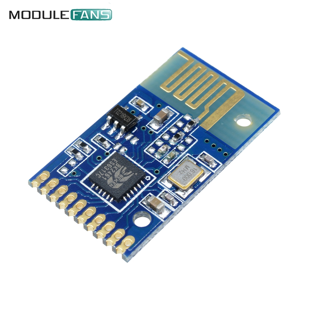 4YK 6Bit Non-lock Wireless Transmitter Receiver Switch Remote Module GM Antenna  2.4Ghz Board Diy Electronic