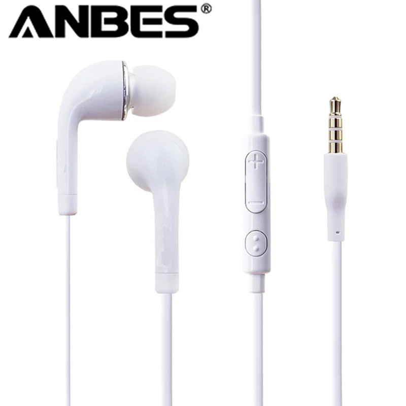 Stereo Music audifonos Headset 3.5mm Wired In-Ear Earphone Noise Isolating Headphones earbuds fone de ouvido Hands free with Mic dhl free 2pcs black white m6 pro universal 3 5mm wired in ear earphone noise isolating musician monitors brand new headphones