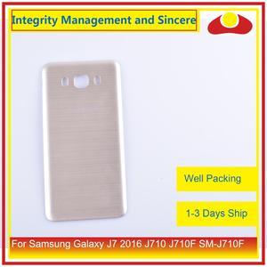 Image 3 - 50 шт./лот для Samsung Galaxy J7 2016 J710 SM J710F J710M J710H J710FN корпус батарейного отсека задняя крышка корпус