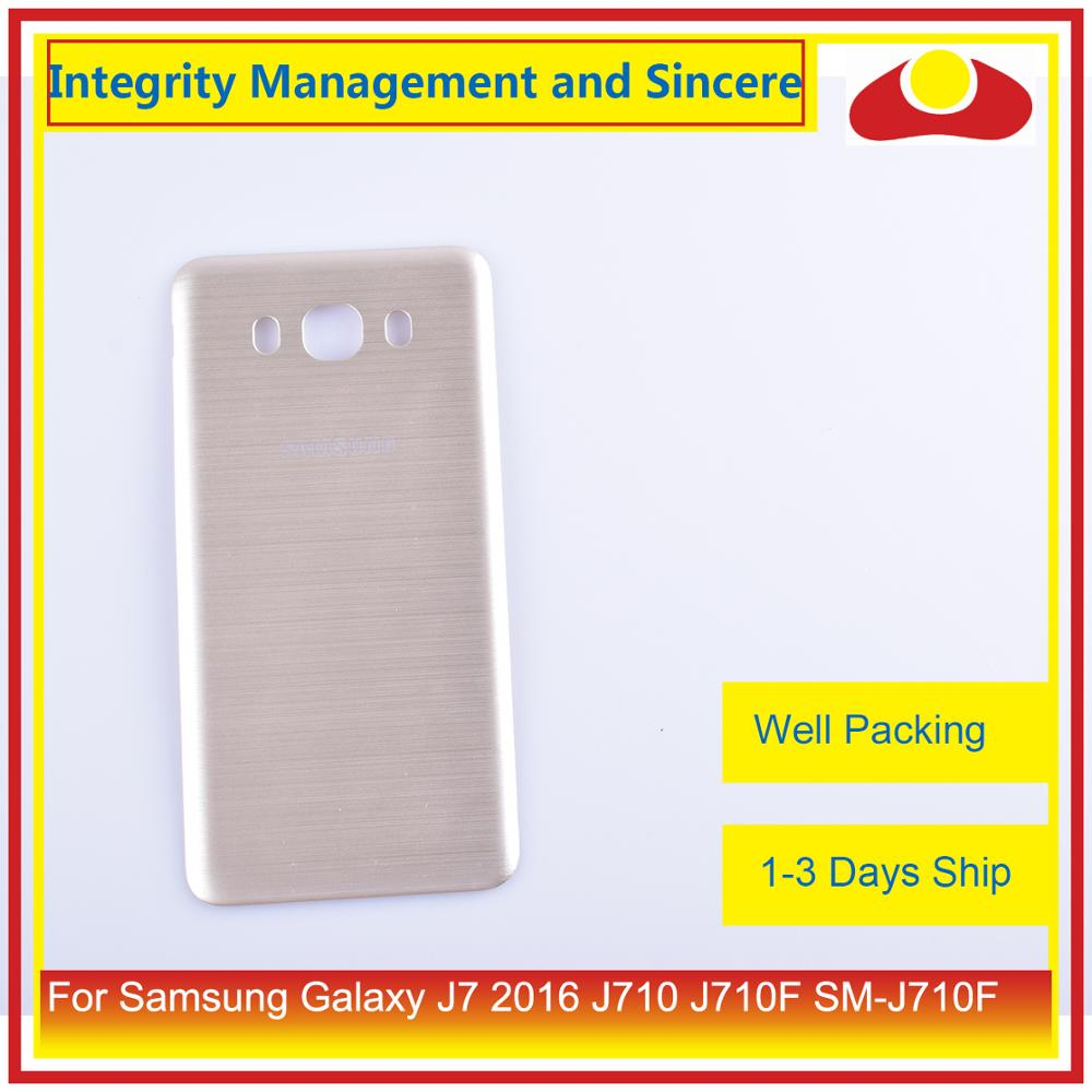 Image 3 - 50Pcs/lot For Samsung Galaxy J7 2016 J710 SM J710F J710M J710H J710FN Housing Battery Door Rear Back Cover Case Chassis Shell-in Mobile Phone Housings & Frames from Cellphones & Telecommunications