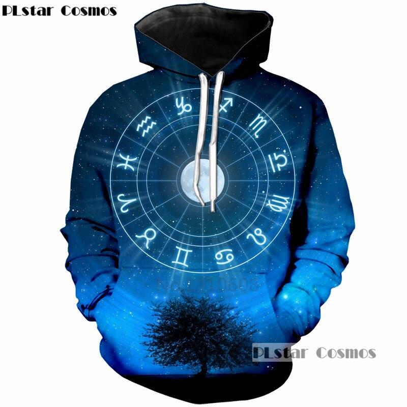 PLstar Cosmos Hot Sale Casual Hoodies Men/Women 3D Print constellation galaxy Long Sleeves Casual Hooded Harajuku Sweatshir