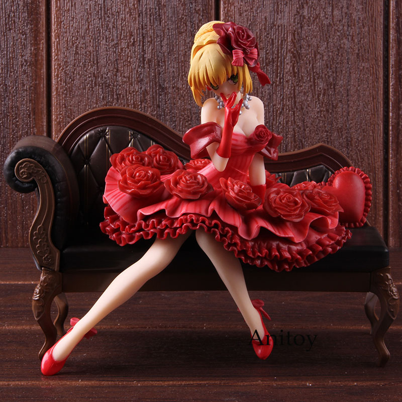Fate Stay Night Figurine Fate EXTRA 1/7 Scale Painted Figure Nero Claudius Red Saber Action Figure Collectible Model ToyFate Stay Night Figurine Fate EXTRA 1/7 Scale Painted Figure Nero Claudius Red Saber Action Figure Collectible Model Toy