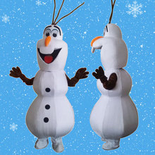 Sourire Olaf pop mascotte Kostuum cosplay dessin anime personnage mascotte Kostuums cosplay