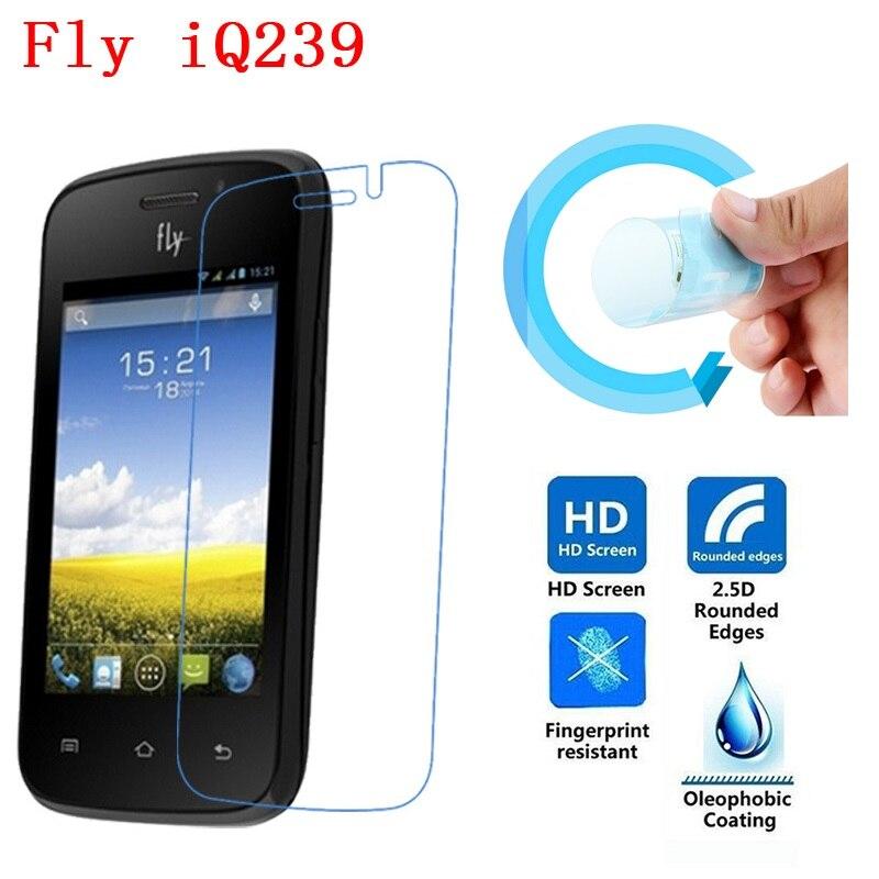 Fly IQ239 Screen Film, 2.5D Ultra-Thin HD Clear Soft Pet Screen Protector Film for Fly IQ239 ERA Nano 2